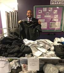 Pop up uniform shop