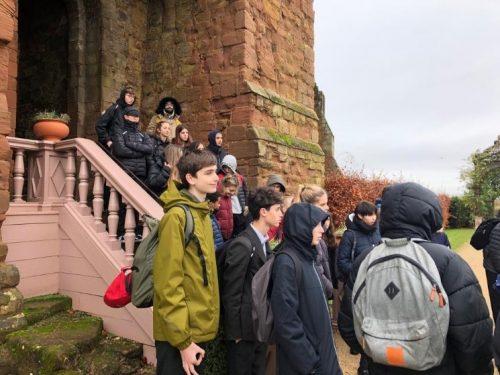 Year 11 trip to Kenilworth Castle